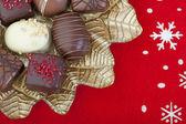 Christmas Chocolates — Stock Photo