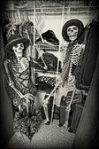 Closet Skeletons — Stock Photo