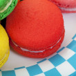 Stock Photo: Macaroon Macro