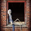Pinup Skeleton — Stock Photo