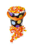 Bucket of Candy Corn — Stock Photo