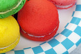 Macaroon Macro — Stock Photo