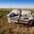 Haunted Couch — Stockfoto