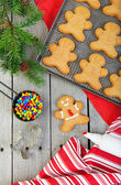Homemade Gingerbread Men — Stock Photo