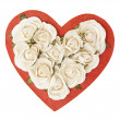 Stock Photo: Valentine Rose Box