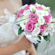 Stock Photo: Wedding bouquet in hand