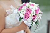 El buket düğün — Stok fotoğraf