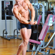 Fitness man posing at gym — Stock Photo #14322131