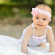 Sweet baby girl — Stock Photo