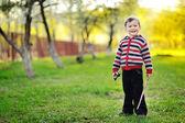 Cute little baby boy portrait — Stock Photo