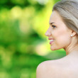 Closeup portrait of beautiful woman  — Stock Photo