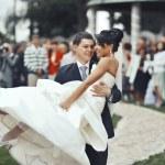 Happy wedding couple — Stock Photo #34415829
