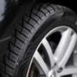 Stock Photo: Car wheel on car - closeup