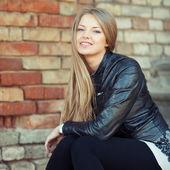 Beautiful girl portrait - outdoor — Stock Photo