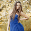 Young beautiful woman - outdoor portrait  — Stock Photo