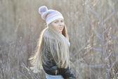 Young beautiful woman - outdoor portrait — Foto de Stock