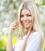 Mooi meisje gezicht — Stockfoto