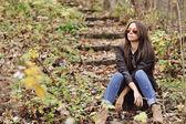 かわいい女性のサングラス — ストック写真
