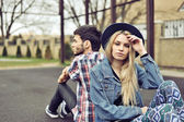 Young couple with relationship difficulties — Stock Photo