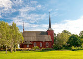 Ulrica Eleonora's church in Kristinestad finland — Stock Photo