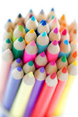 Coloured pencils — Stockfoto