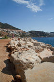 Seaside town Kalkan, Turkey — Stock Photo