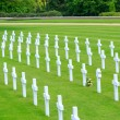 American war cemetery, Cambridge England — Stock Photo