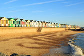 Beach Huts, Southwold Suffolk, England — Stock Photo