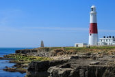 Portland Bill Lighthouse — Stock Photo