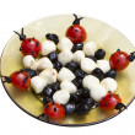 Tasty organic food decoration — Stock Photo #12180657