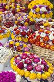 Varios ramos de flores artesanales — Foto de Stock