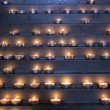 Candles in a church — Stock Photo #12872891