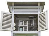Meteorologische huis — Stockfoto