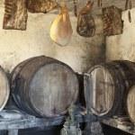Interior of very old wine cellar — Stock Photo #18062029