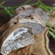 Tasty organic bread with various seeds — Stock Photo #25512951