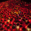 Thousands of candles, path to heaven — Stock Photo