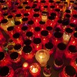 Thousands of candles, path to heaven — Stock Photo #34628265