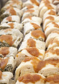 Ajdovi struklji pastry — Stock Photo