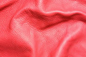 Red leather texture — Stock Photo