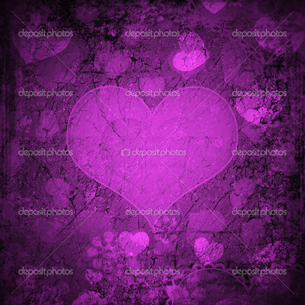 Red Valentine's day background with hearts  — Stock Photo #13939876
