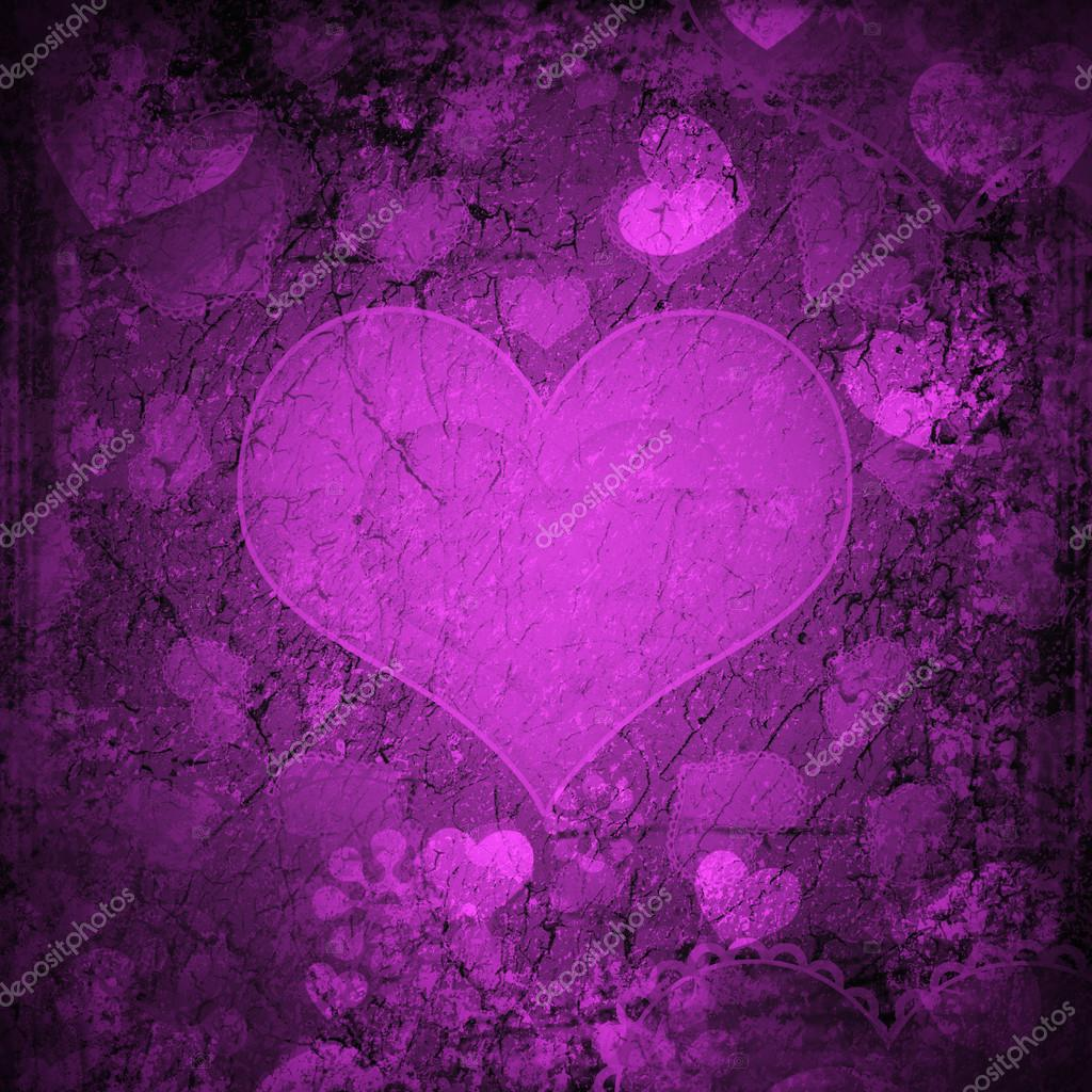 Red Valentine's day background with hearts  — Stockfoto #13939876