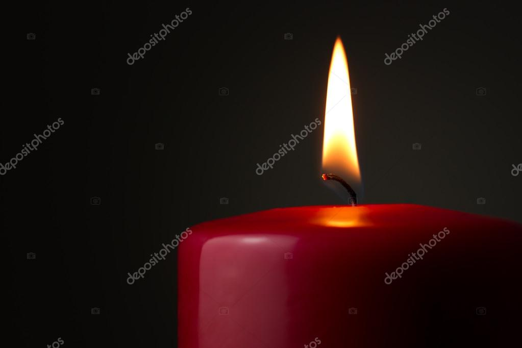 Burning candle — Stock Photo #16852391