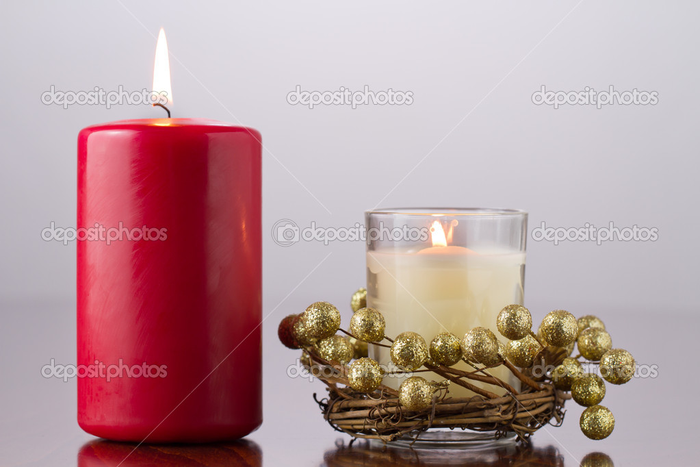 Burning candles — Stock Photo #16852423