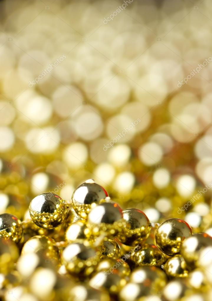 Christmas decoration gold  Stock Photo #16852575