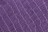 Purple leather — Stock Photo