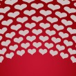 Hearts background — Stock Photo #19131179
