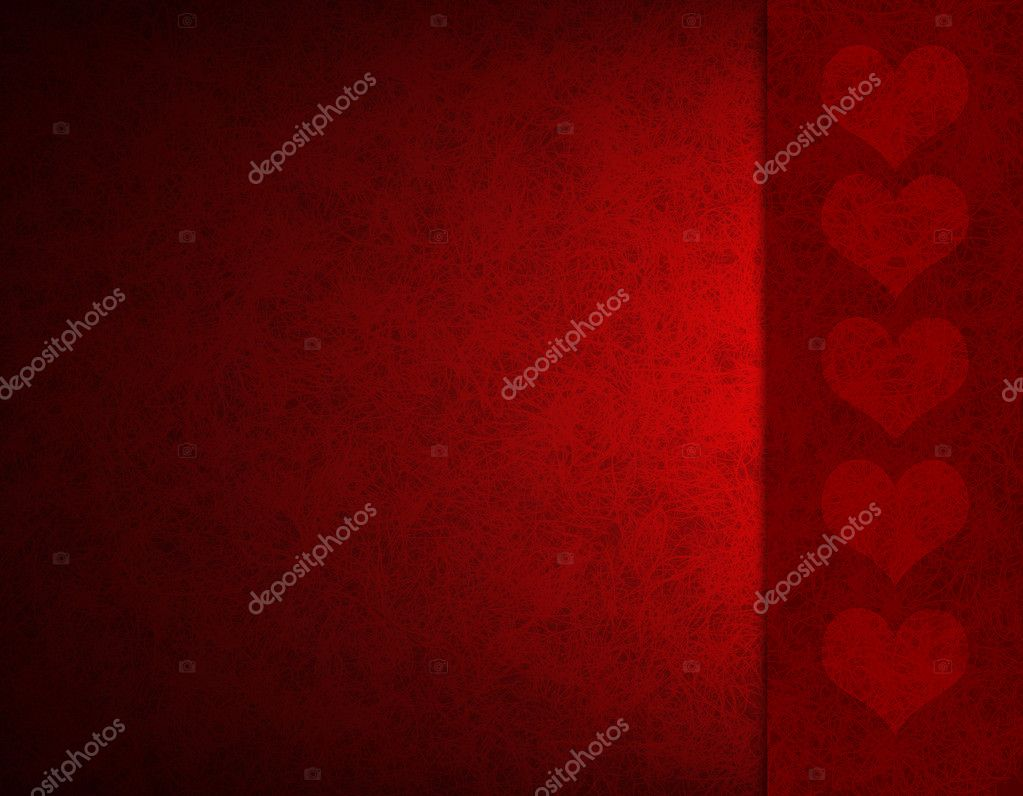 Valentine's day background with hearts  Foto de Stock   #19131353