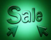 Prodej text — Stock fotografie