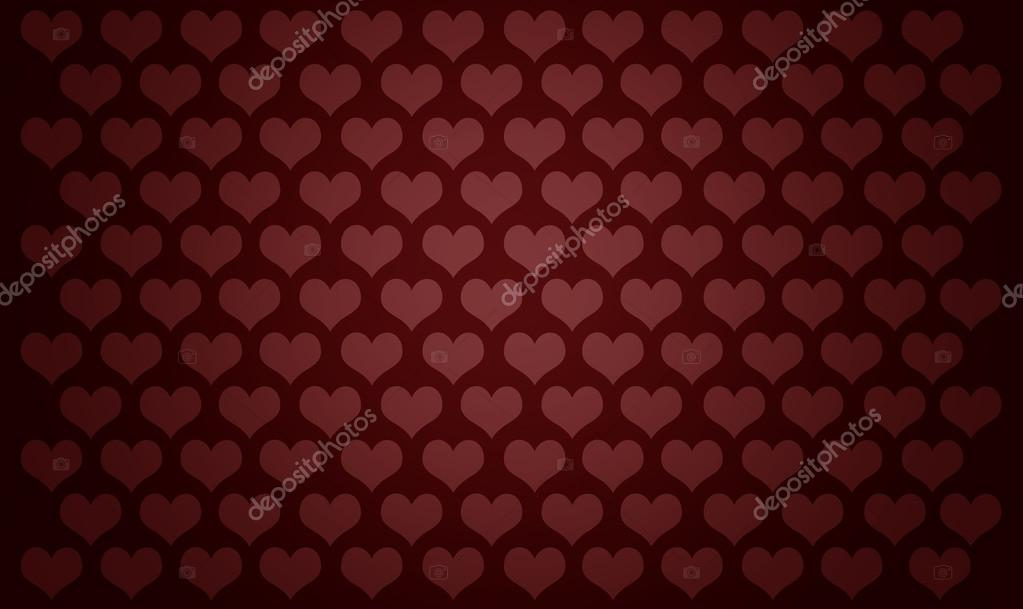 Seamless pattern with hearts — Stock Photo #19652715