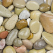Peeble stones background - Stock Photo